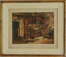 Armand COUSSENS (1881-1935) - La boutique du brocanteur