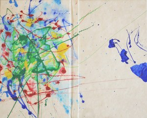 Sam FRANCIS (1923-1994) - yea book painted cover