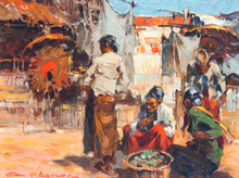 Gerard Pieter ADOLFS (1897-1968) - 'Sunny scene'