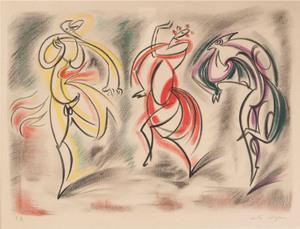 André MASSON (1896-1987) - Les Danseuses