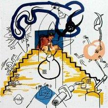 Keith HARING (1958-1990) -  Apocalypse 3