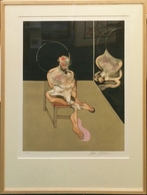 Francis BACON (1909-1992) - SEATED FIGURE (S. 5)