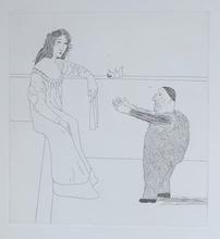 David HOCKNEY (1937) - 'Rumpelstilzchen'