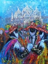 Valerio BETTA (1949) - Danze e colori del carnevale - Venice carnival
