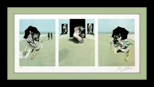 Francis BACON (1909-1992) - Metropolitan Triptych
