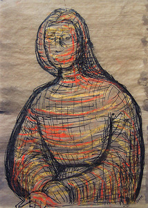 Henry MOORE (1898-1986) - Seated Figure