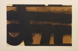 Pierre SOULAGES (1919) - Lithographie L 35