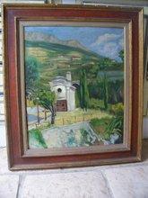 François DESNOYER (1894-1972) - paysage coloré