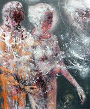 Ovidiu-Ioan KLOSKA (1977) - LARGE BEAUTIFUL LOVE COUPLE ANCESTRAL WEDDING COSMIC ADAM AN
