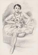 Henri MATISSE (1869-1954) - Danseuse assise, from 'Dix danseuses'