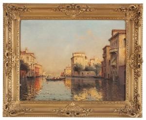 Eloi Noël BOUVARD (1875-1957) - Venetian view