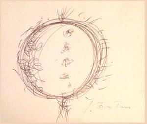 Lucio FONTANA (1899-1968) - Concetto Spaziale