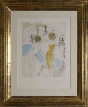 Salvador DALI (1904-1989) - Les Femmes Fleurs au Piano