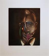 Francis BACON (1909-1992) - Portrait de Michel Leiris