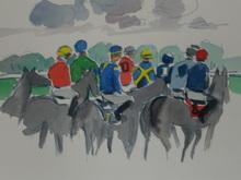 Arnaud MANCERON (1958) - Courses hippiques a Paris Longchamp