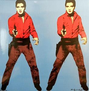 Andy WARHOL (1928-1987) - Elvis Blue