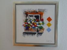 Alban WELTI (1951) - Blumenfenster