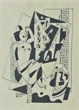Béla KADAR (1877-1956) - Nude with Cityscape