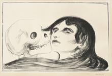 Edvard MUNCH (1863-1944) - The Kiss of Death