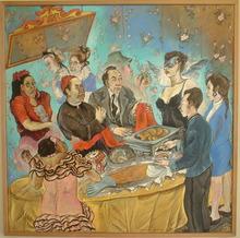 MORENO-PINCAS (1936) - Cocktail au Saumon