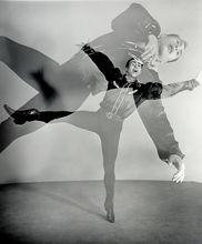 Barbara MORGAN (1900-1992) -   Barbara MORGAN   1900-1992  Martha Graham Dance Troupe- Sq