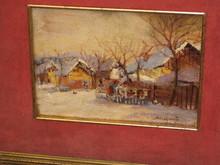 Alessio ISSUPOFF (1889-1957) - Villaggio Russo