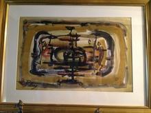 Franz PRIKING (1929-1979) - labyrinthe cosmos