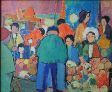 Marko STUPAR (1936) - Le marché