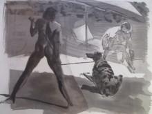 Eric FISCHL (1948) - Beach bathers