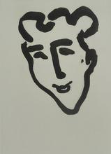Henri MATISSE (1869-1954) - Sharp Mask / Masque Aigu
