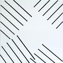 François MORELLET (1926) - Trames auto-tamponneuses n° 6