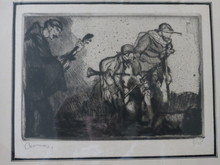 Armand COUSSENS (1881-1935) - three musicians