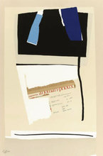 Robert MOTHERWELL (1915-1991) - America la France Variations VI