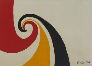Alexander CALDER (1898-1976) -  The Wave
