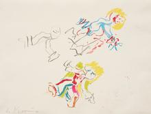 Willem DE KOONING (1904-1997) - Composition for Lisa