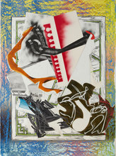 Frank STELLA (1936) - Going Aboard (from the Wave Series), ed 34/60