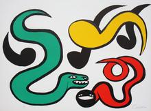 Alexander CALDER (1898-1976) - Couleurs au Choix (Snakes)