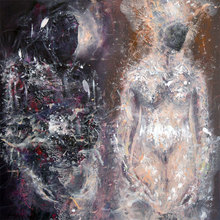 Ovidiu-Ioan KLOSKA (1977) - DIAPHANE SOFT COMPOSITION NIGHT WEDDING ONIRIC DREAM COSMIC