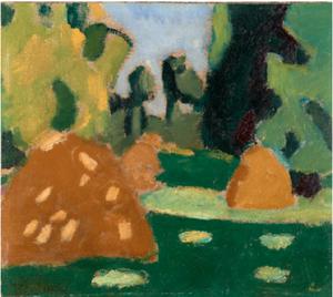 Francis PICABIA (1879-1953) - Les Meules