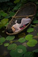 VIET HA TRAN (1981) - The Lotus Lake V, Medium Size 1/5