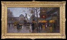 Édouard CORTES (1882-1969) - Paris, la Place de la Republique