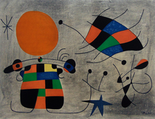 Joan MIRO (1893-1983) - The Smile with Flamboyant Wings