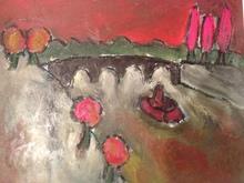 Christian DURIAUD (1944) - Les arbres rouges