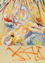 Salvador DALI (1904-1989) - La Pieta Nera