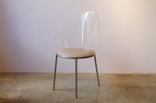 Shiro KURAMATA (1934-1991) - Acrylic back chair
