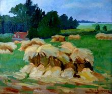 Albert SERRURE (XX) - Landschaft