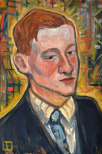 Carry HAUSER (1895-1985) - Portrait eines Jungen Mannes
