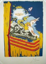 Salvador DALI (1904-1989) - The Immaculate Conception (Tarot Nine of Swords)
