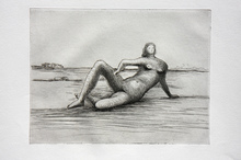 Henry MOORE (1898-1986) - The Reclining Figure (Plate 4)