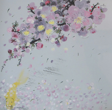 SHEN Ling (1965) - Withered Flowers and Flowing Water No.2
